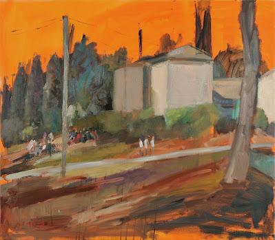 'מבט אל הנוף'- יוצאים החוצה לצייר את הסביבה